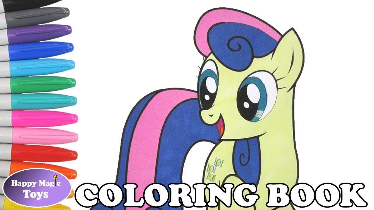 Sweetie Drops Bon Bon Coloring My Little Pony Friendship Is