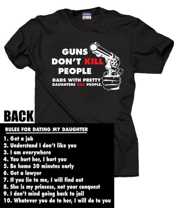 0793b711f Gift For Dad Rules For Dating My Daughter T-shirt Gift For Father Fathers  Day Gift