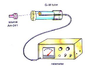 A Geiger Muller Tube Can Be Used To Detect Radiation Radiation Gcse Science Nuclear Radiation