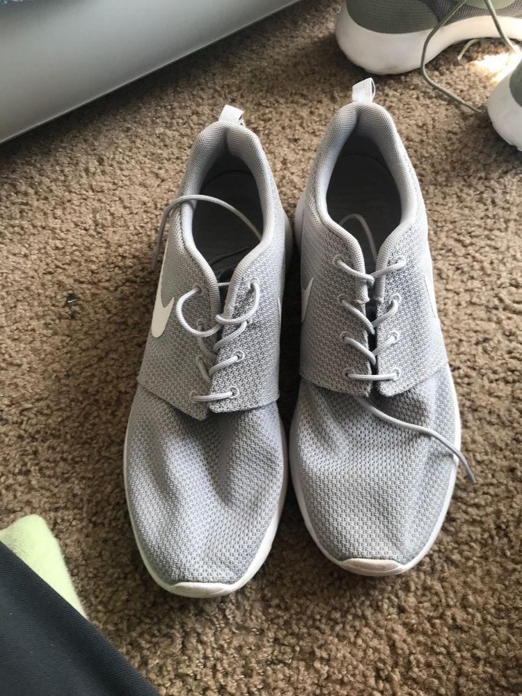size 40 8bf54 13685 Nike Roshe One Mens 511881-023 Wolf Grey White Mesh Running Shoes Size 10   fashion  clothing  shoes  accessories  mensshoes  athleticshoes (ebay link)