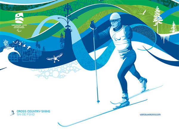 The Olympic Pulse Top Collection Of Winter Olympics Wallpapers Winter Olympics Skiing 2010 Winter Olympics