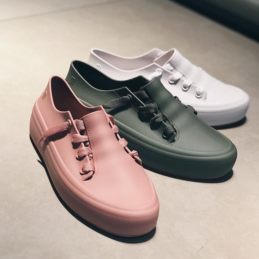 "59b945fe268 Melissa Shoes on Instagram  ""The Ulitsa Sneaker is perfect for the urban  fashionista  melissaplasticlovers  sneakerhead . . 📷   mynameisglenn"""