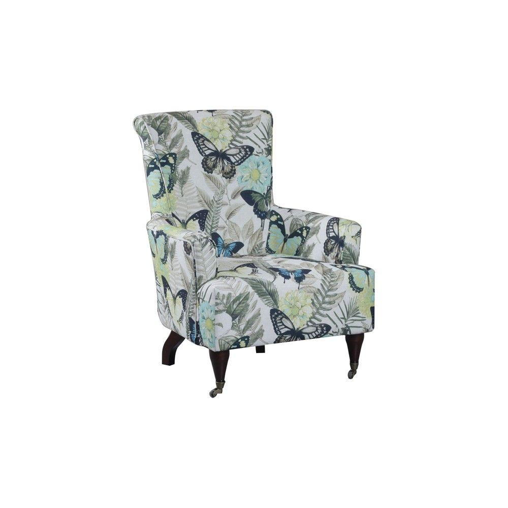 Fabulous Linon Junnell Arm Chair Multi Color Home Decor Products Inzonedesignstudio Interior Chair Design Inzonedesignstudiocom