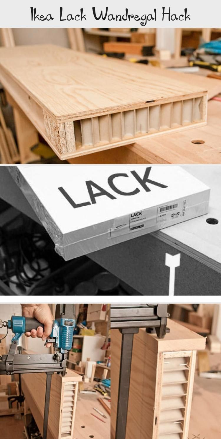Ikea Lack Wandregal Hack In 2020 With Images Wood Crafts