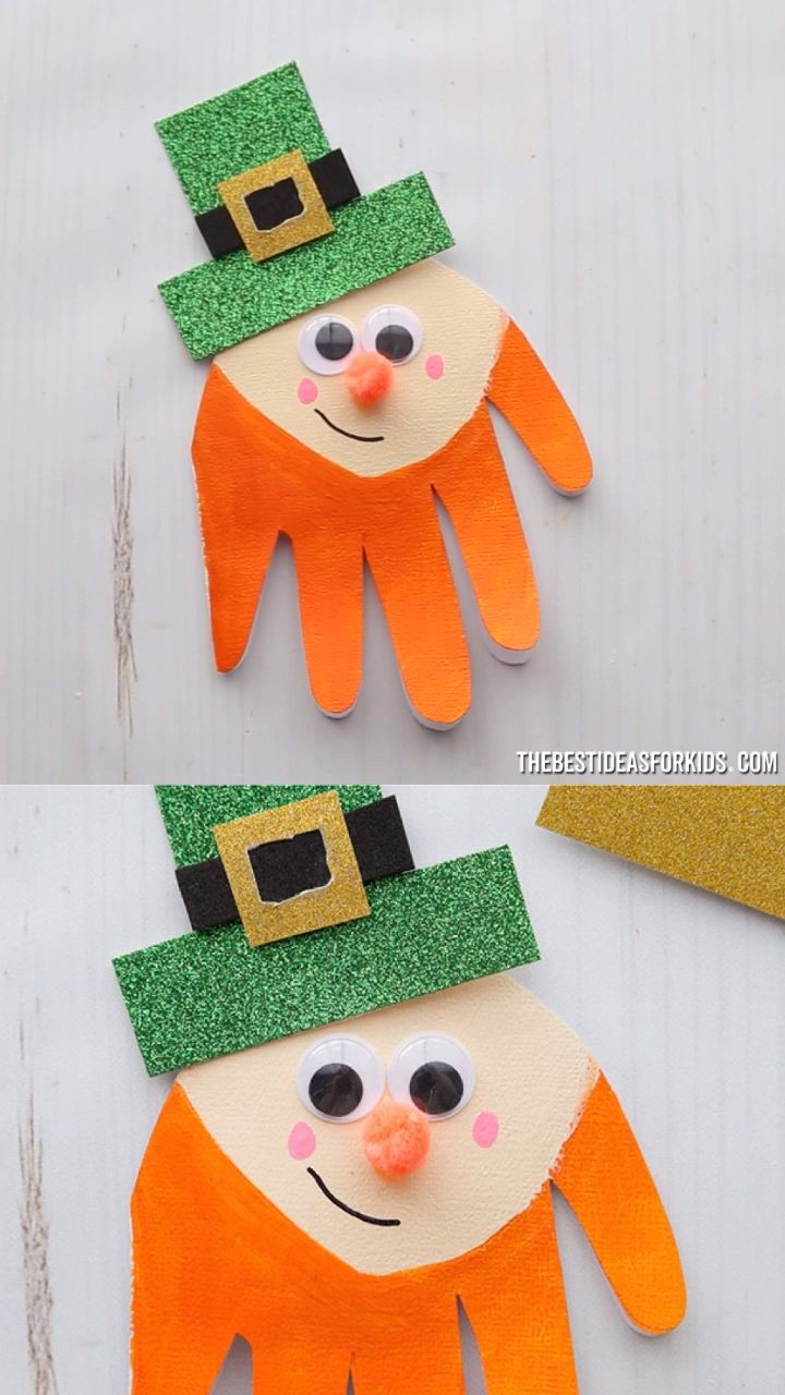 Leprechaun Handprint