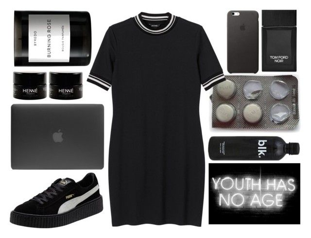 """youth"" by yonderly ❤ liked on Polyvore featuring Monki, Puma, Incase, Tom Ford and Byredo"