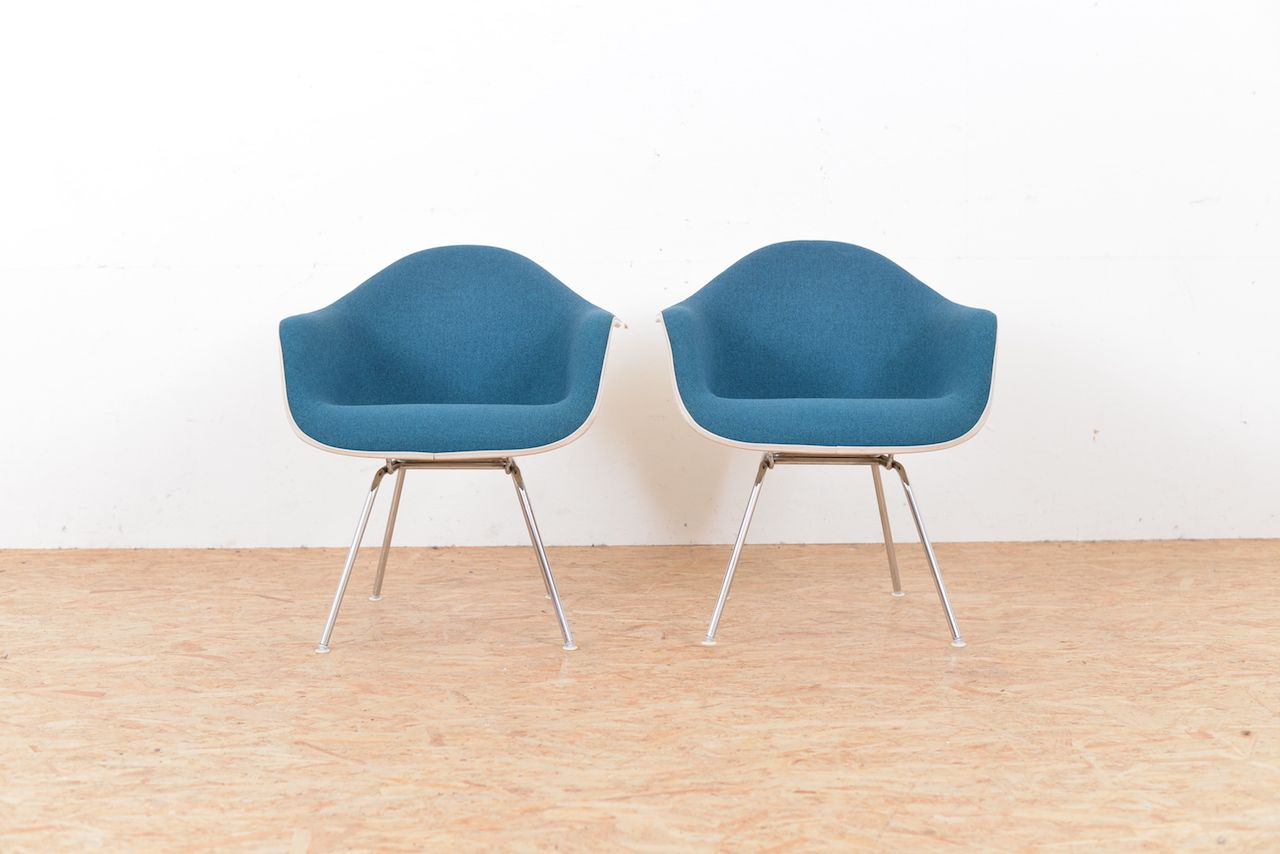Armchairs by charles u ray eames for vitra set of ffue