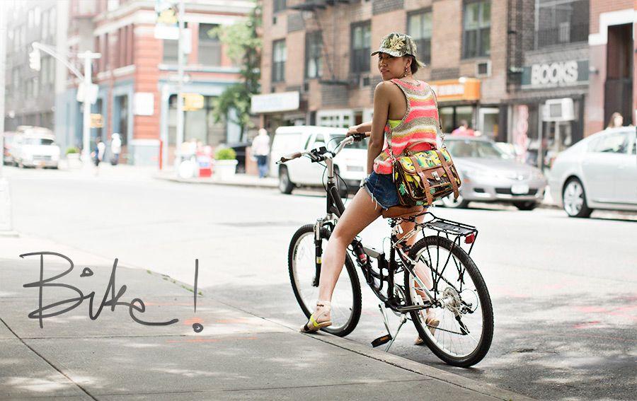 Bike Fashion Bike Style Street Style