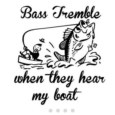 Bass fishing boat truck decal 9 in car decals for Fishing stickers for trucks