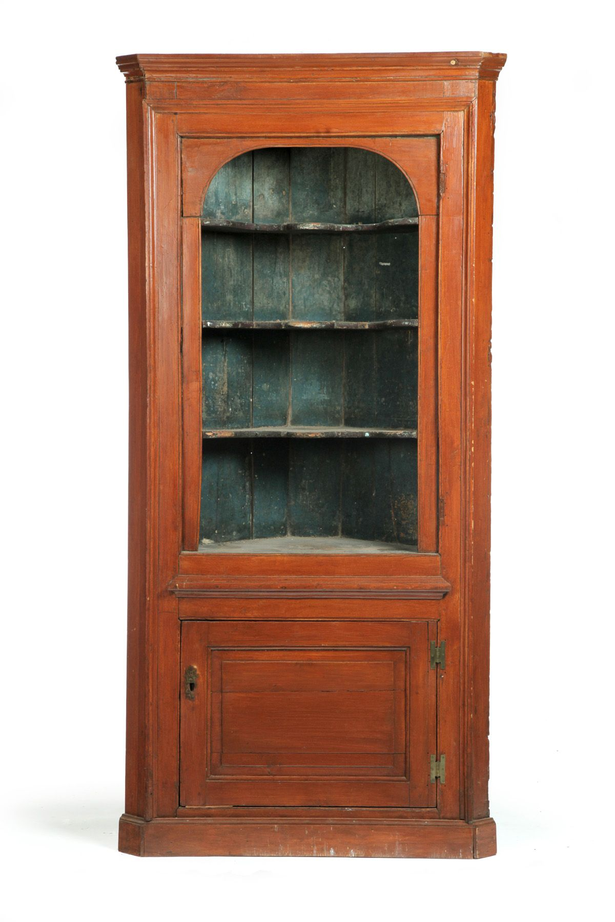 Garth S Auctioneers Appraisers America S Most Trusted Auction House Early American Furniture Corner Cupboard Antique Collection