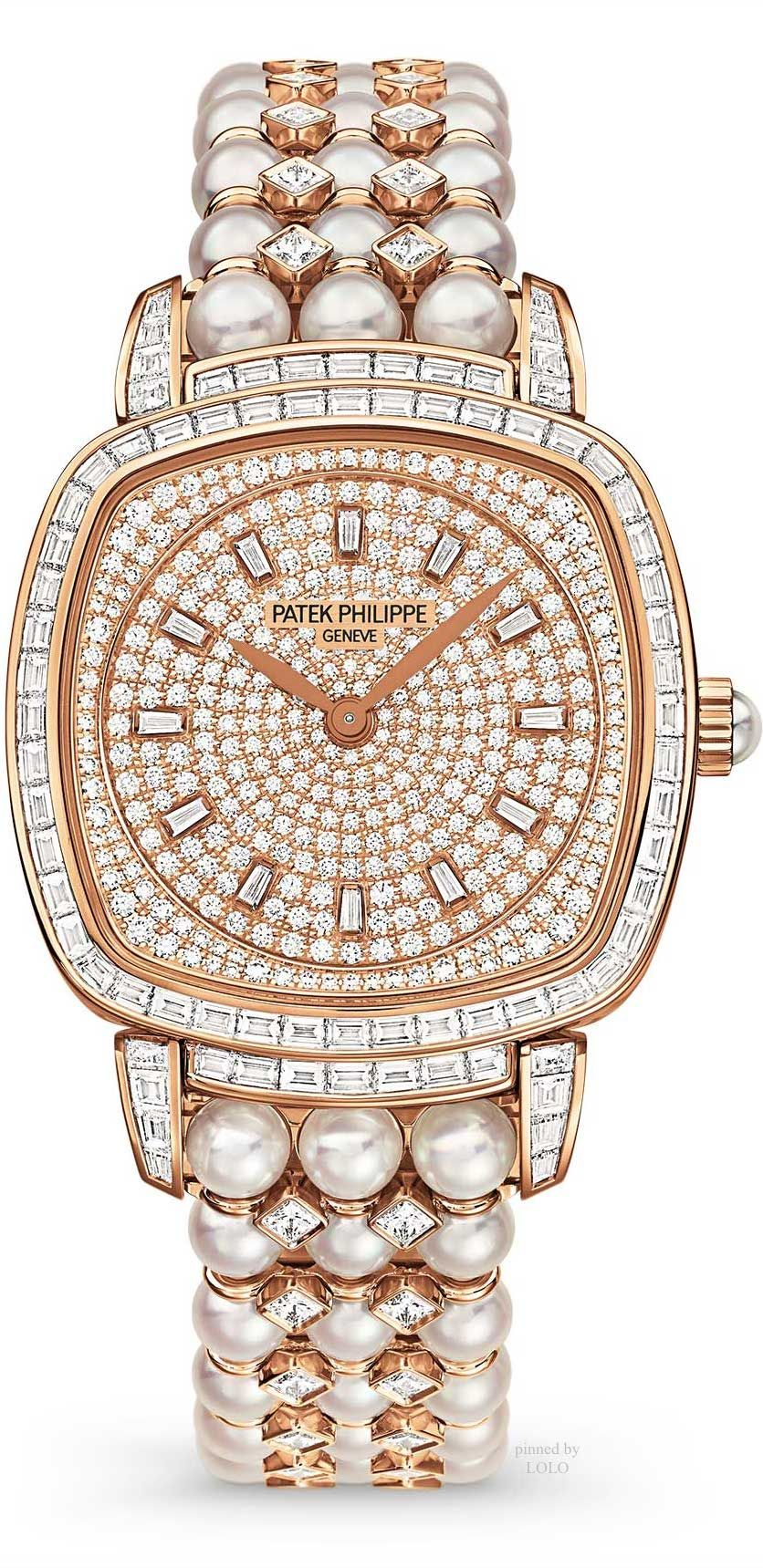 dbdb7f734d4 Three new Patek Philippe jewellery watches keep appetites whetted ...
