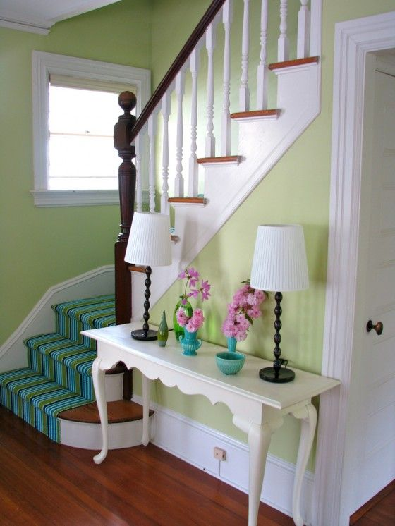Diy Install A Colorful Stair Runner Diy Projects From