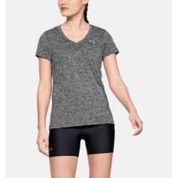 Photo of Women's Ua Tech top with twist effect and V-neck and …