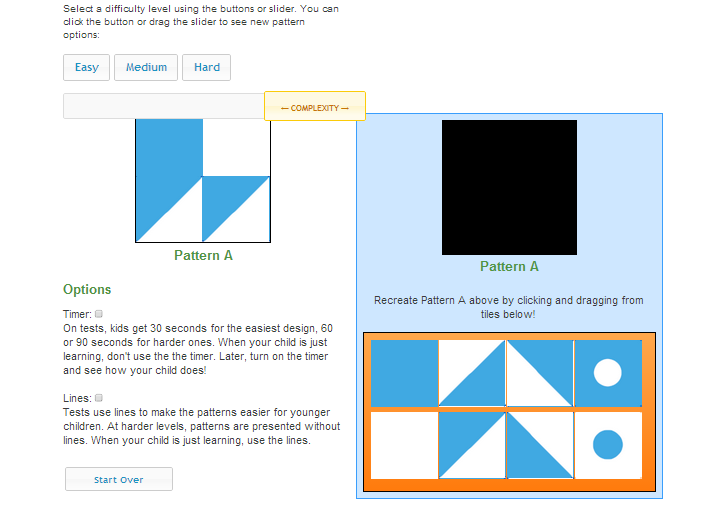 Pattern Tile Puzzles Are Great Practice For Tests That Assess Visual Spatial Reasoning Thinking With Patterns Problem Stanford Binet Test Stanford Binet Nnat