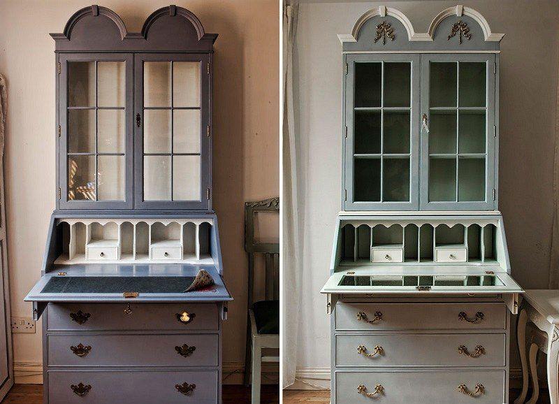 Relooker un meuble ancien avec de la peinture- idées supers Pinterest - Moderniser Un Meuble Ancien