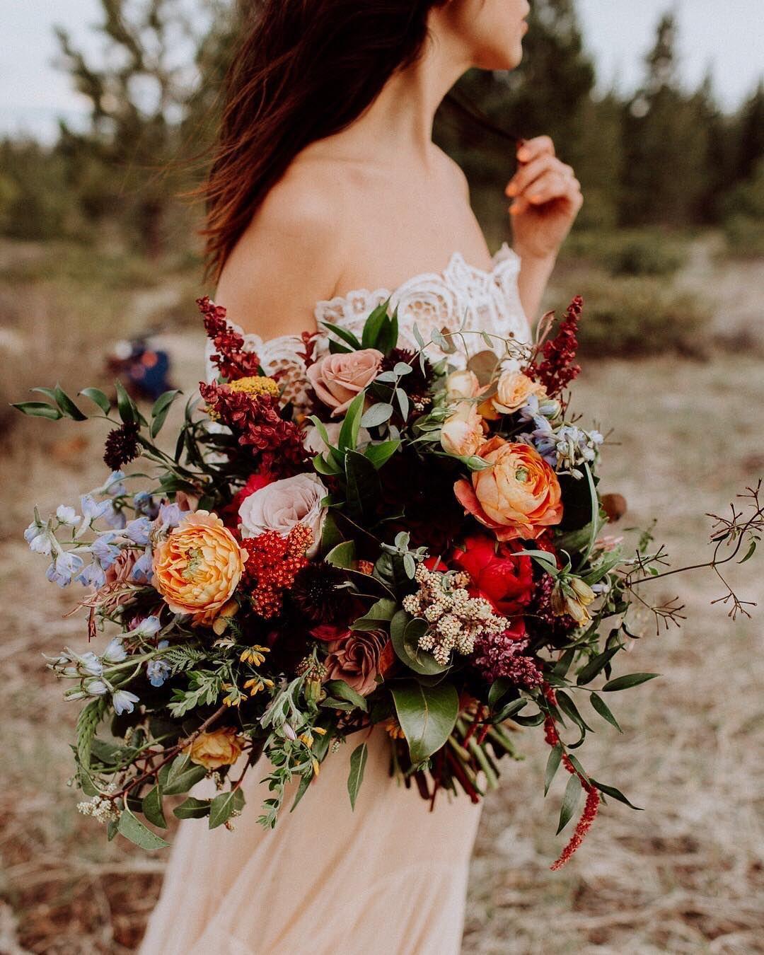 5 Autumnal Wedding Day Details, Inspired By Instagram