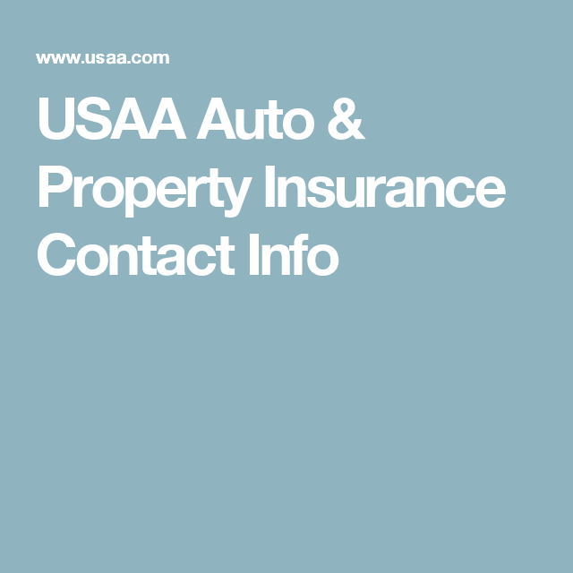 Usaa Auto Property Insurance Contact Info Auto Glass Repair