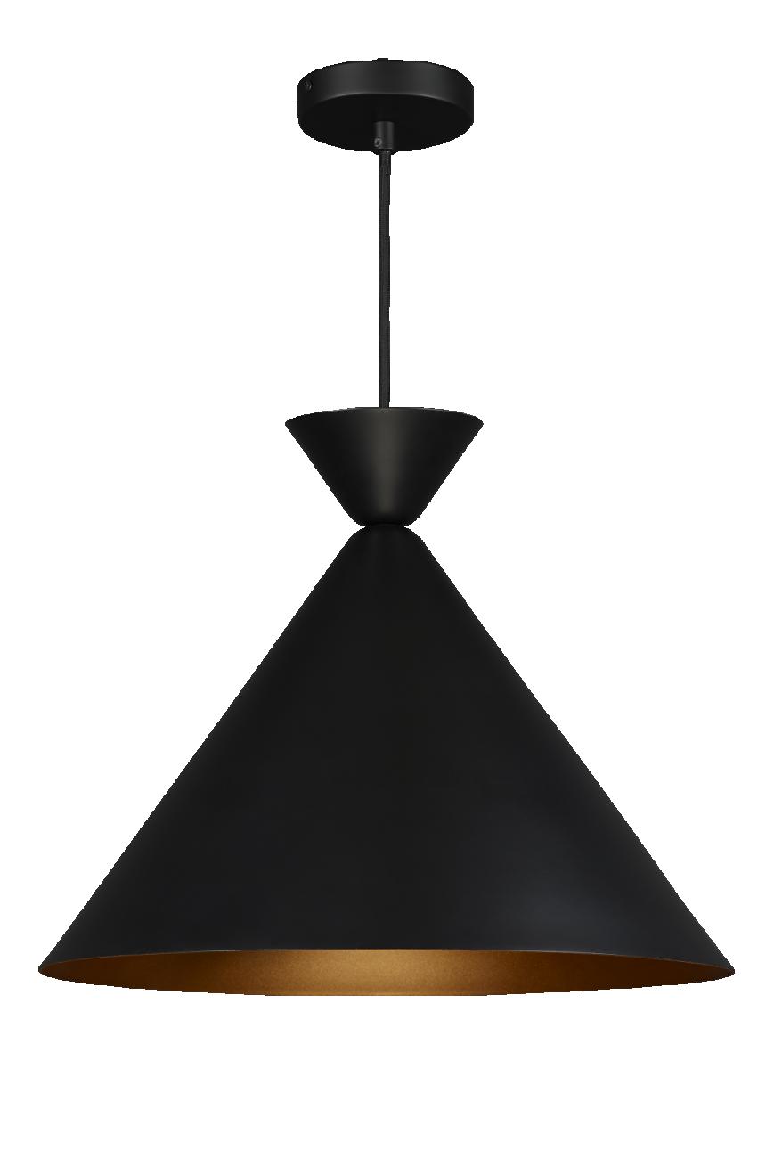 gaia suspension triangulaire noire et dor habitat luminaires pinterest suspension. Black Bedroom Furniture Sets. Home Design Ideas