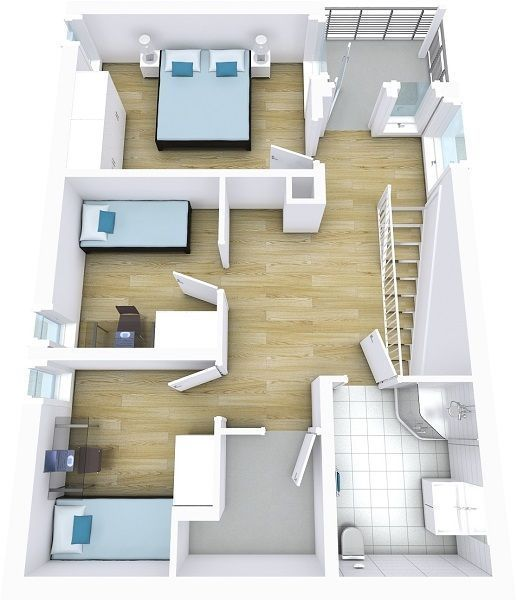 Professional Floor Plans For Real Estate Agents Floor Plans Floor Planner Light Blue Decor