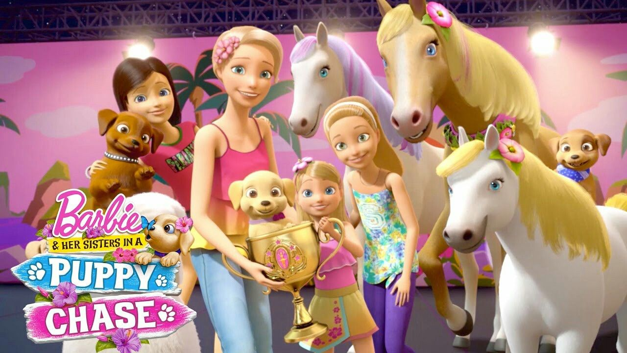 Pin By Zeisha On Barbie Barbie Her Sisters Barbie Movies Barbie Puppy