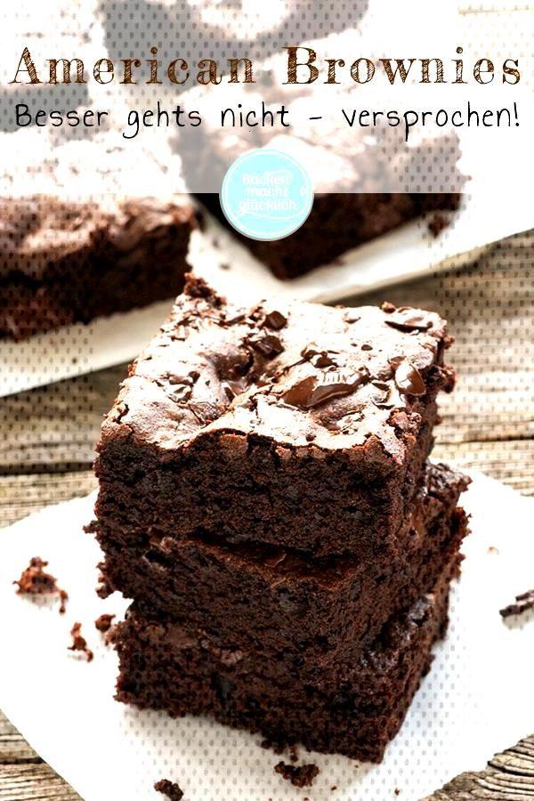Diese genialen American Brownies sind fr uns die weltbesten Brownies berhaupt. Diese Brownies sind