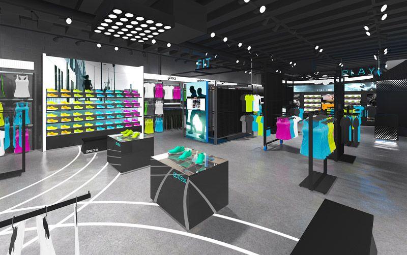 JD Pro Retail interior design, Store design, Retail interior