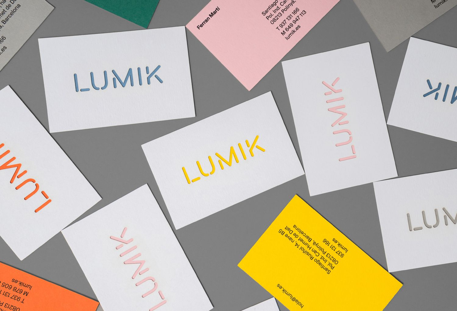 New Logo & Brand Identity for Lumik by Hey — BP&O | Business cards ...