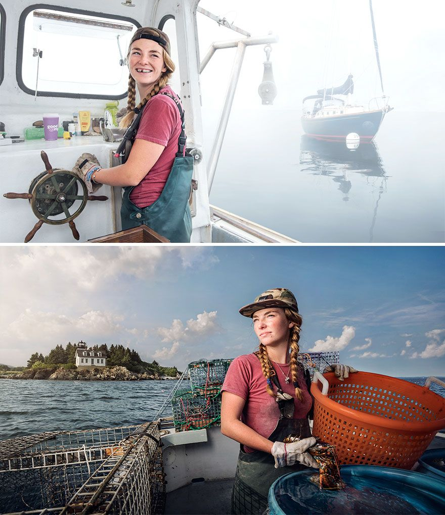 Sadie Samuels Lobster Fisher In Rockport Maine And 10 Man Jobs