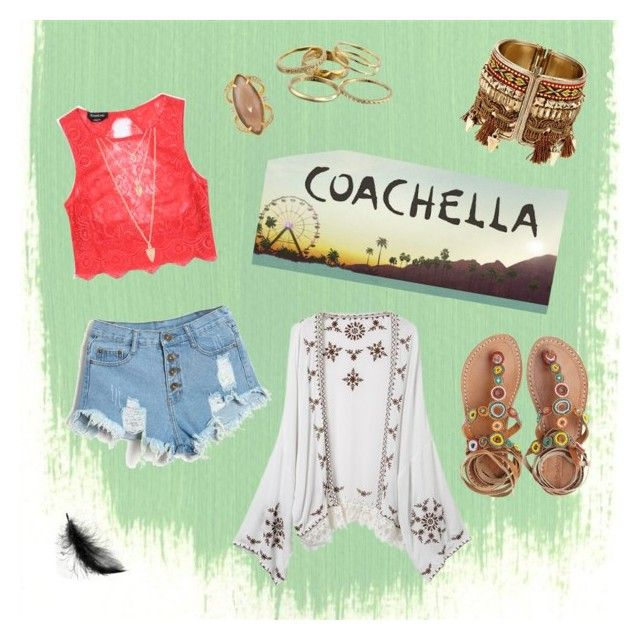 """""""Untitled #14"""" by cookiemonster-yum on Polyvore featuring Bebe, Laidback London, Henri Bendel, Kendra Scott and Forever 21"""