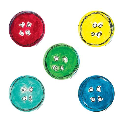 Pete's buttons! So many different uses for these: decoration, counting, tracking and more.