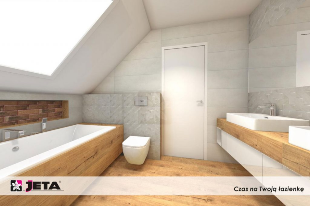 Jak Wykorzystac Plytki Drewnopodobne W Lazience Bathtub Alcove Bathtub Bathroom