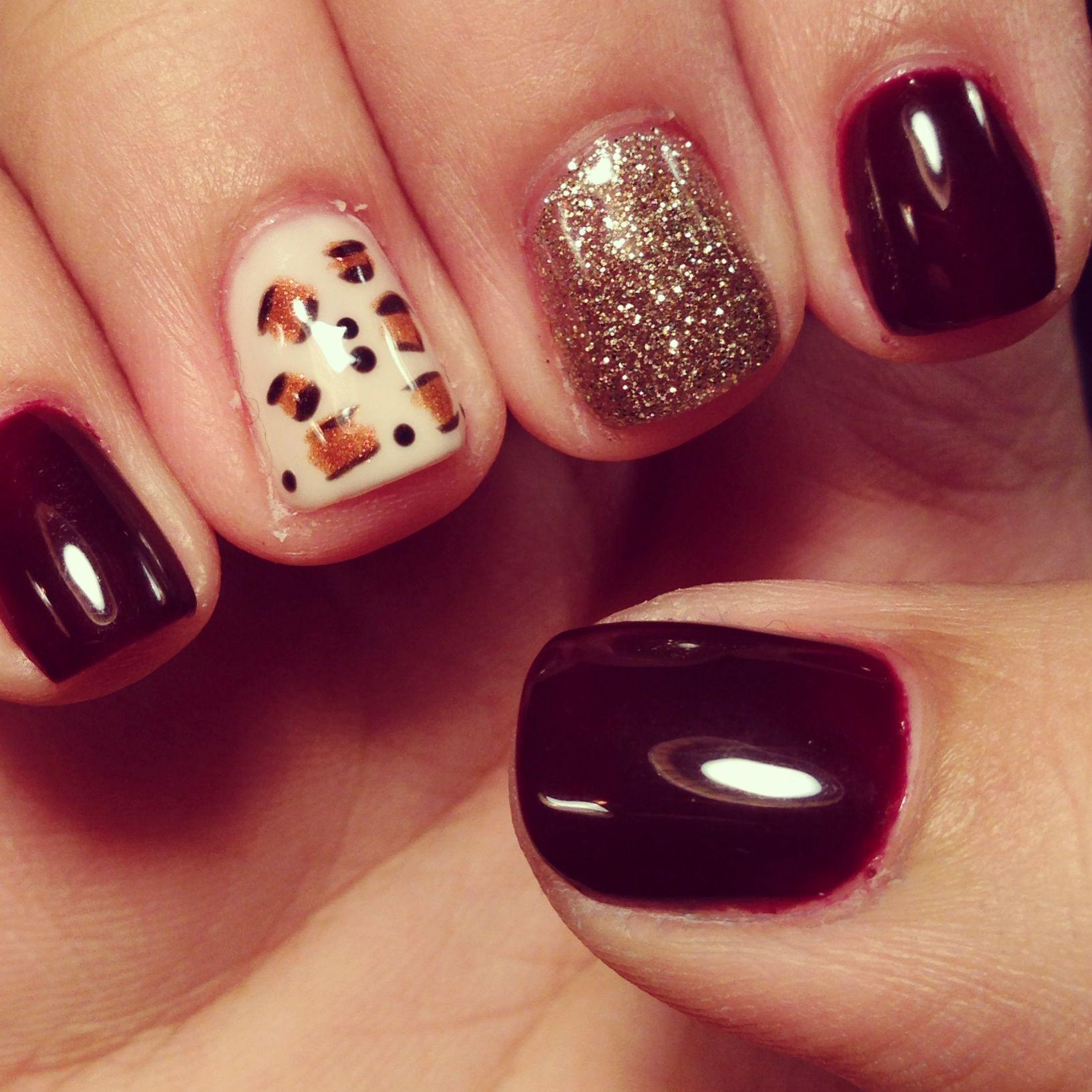 Shellac nails ❤ fall time | nails | Pinterest | Shellac nails ...