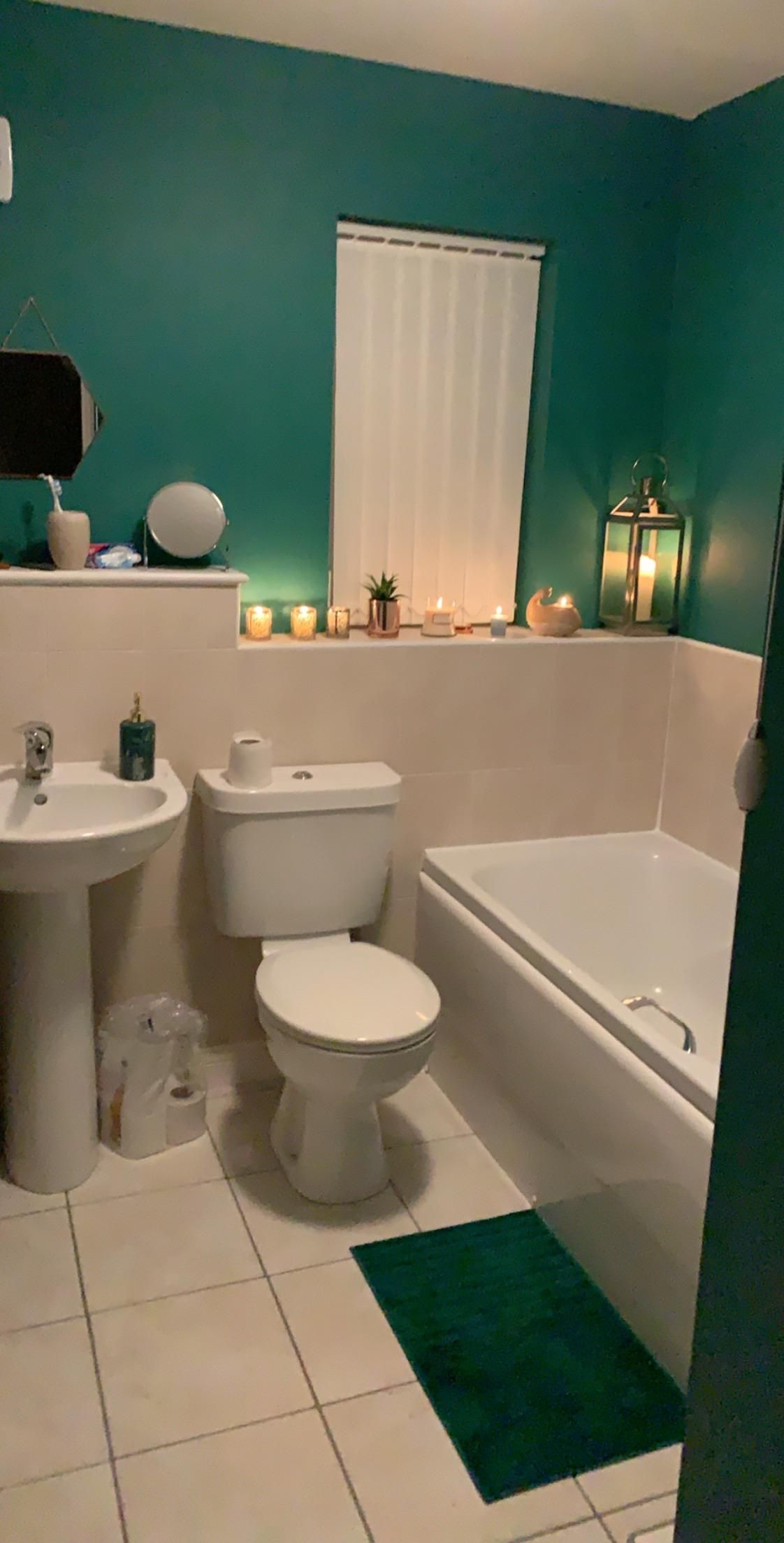 Painted My Bathroom Last Night Interior Living Space Design Concept Furniture Home Decor Aesthetic Amazing Unique Man Room Home Modern House Design