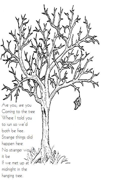 The Hunger Games Hanging Tree Song Herbst Ausmalvorlagen Mandala Ausmalen Herbstbaume