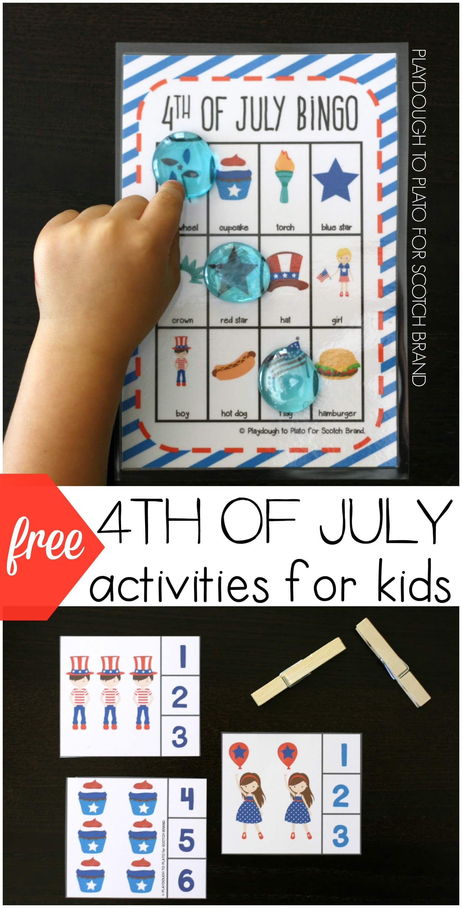 Free 4th Of July Activities For Kids Playdough To Plato Printables Free Kids Activities For Kids Independence Day Theme [ 3000 x 1526 Pixel ]