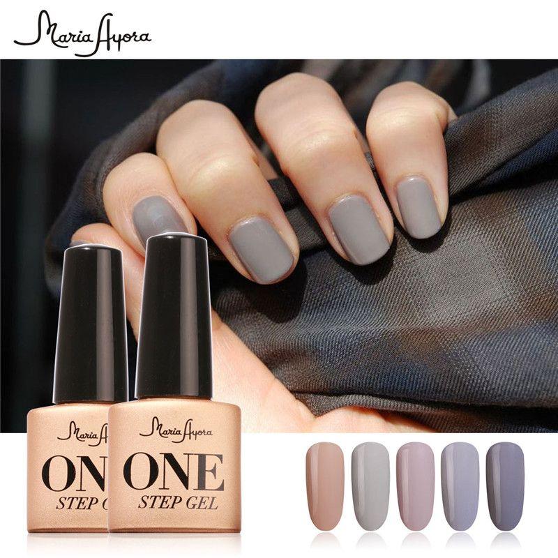 Fashion UV Gel Polish Manicure Soak Off One Step Nail Polish Gel ...