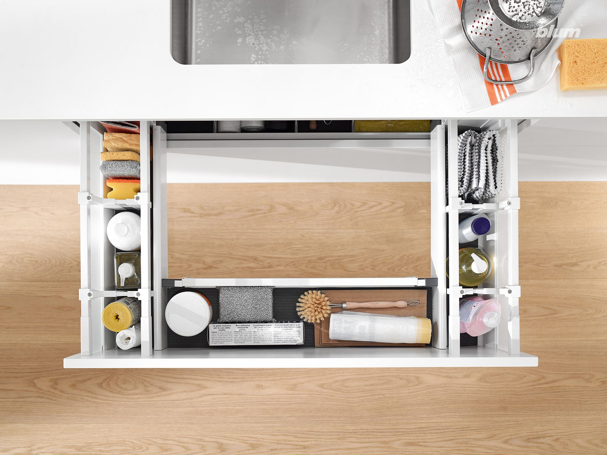 Clever AroundSink Storage Drawer. Make the most of every