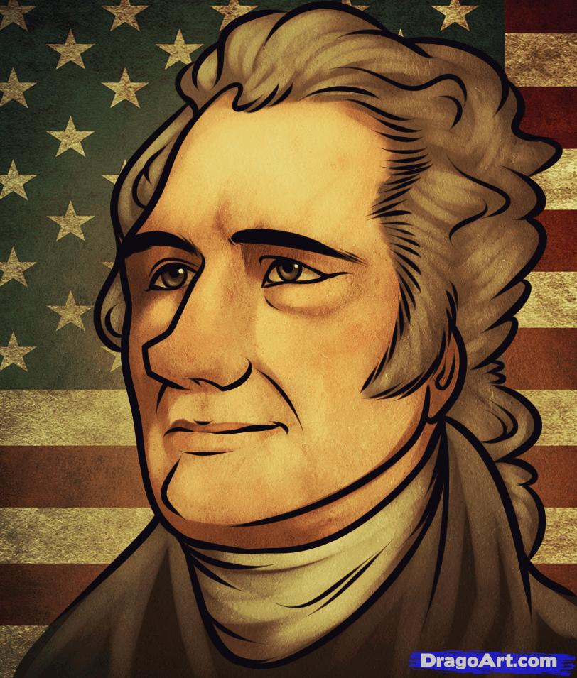 How To Draw Alexander Hamilton Alexander Hamilton Art Pinterest
