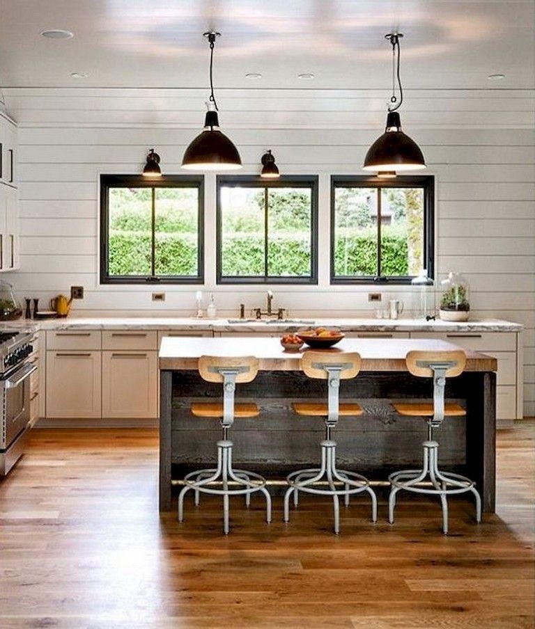 91+ Amazing Farmhouse Kitchen Ideas Budget | Farmhouse ...