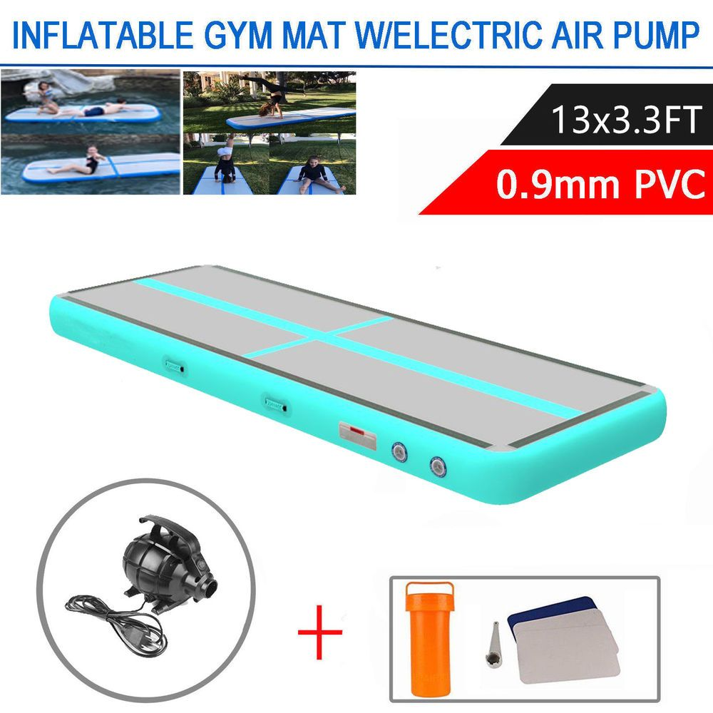 13Ft Inflatable Air Track Floor Home Gymnastics Tumbling