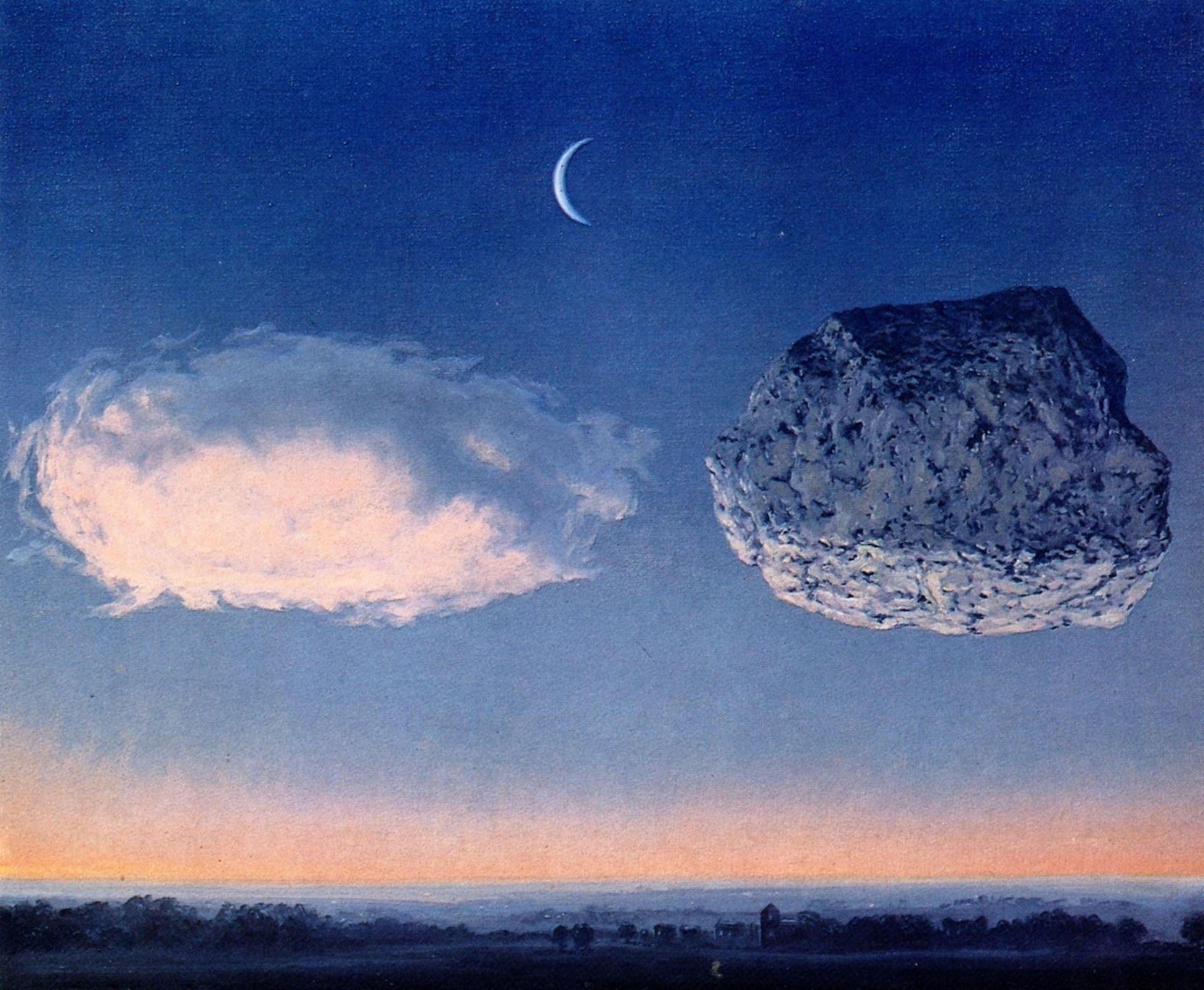 Rene Magritte Bel ルネ マグリット 白 マグリット シュルレアリスム モダンアート