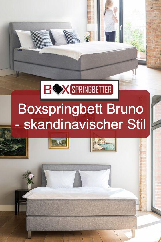 Schlafzimmer skandinavisch einrichten mit dem Bruno