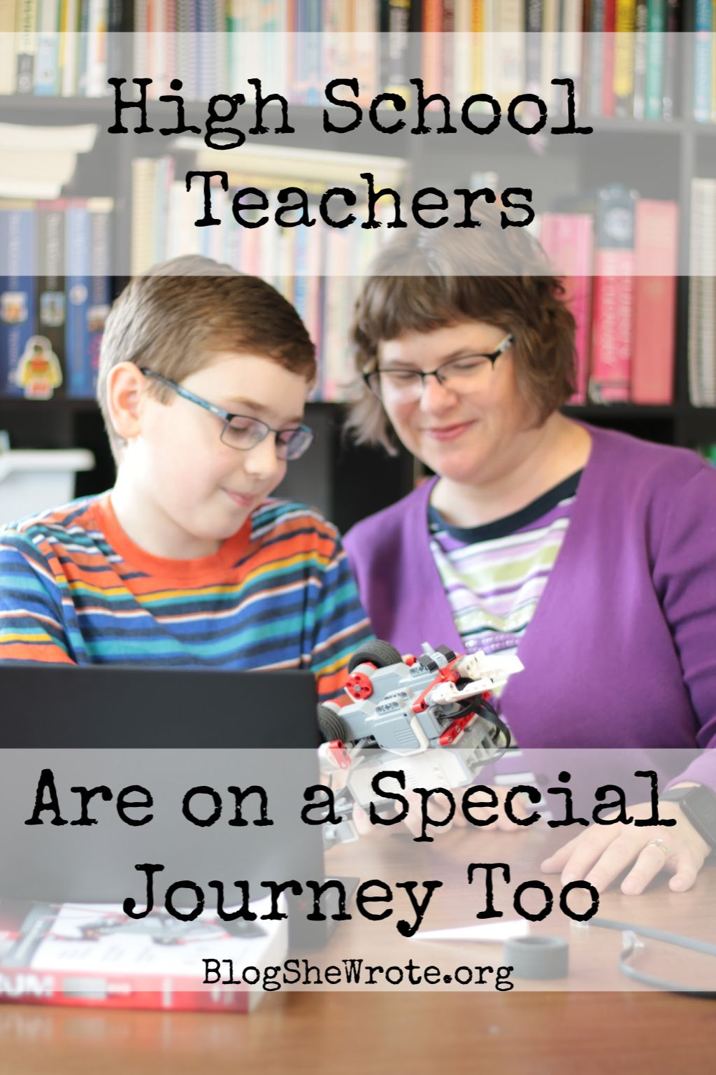 High School Teachers Are on a Special Journey Too School