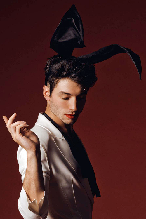 Ezra Miller photographed by Ryan Pfluger for... : be like a snake