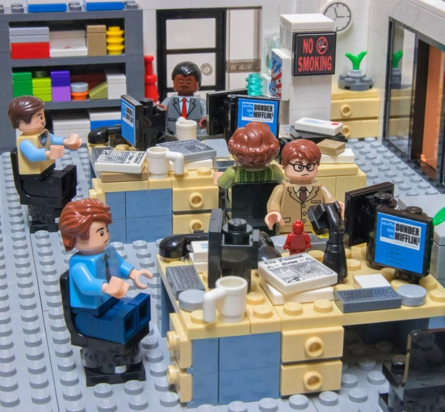 Lego Has A Community Of People That Come Up With Ideas For New Lego Products Which Is A Great Idea In Itself But Lego Office The Office Show Office Birthday