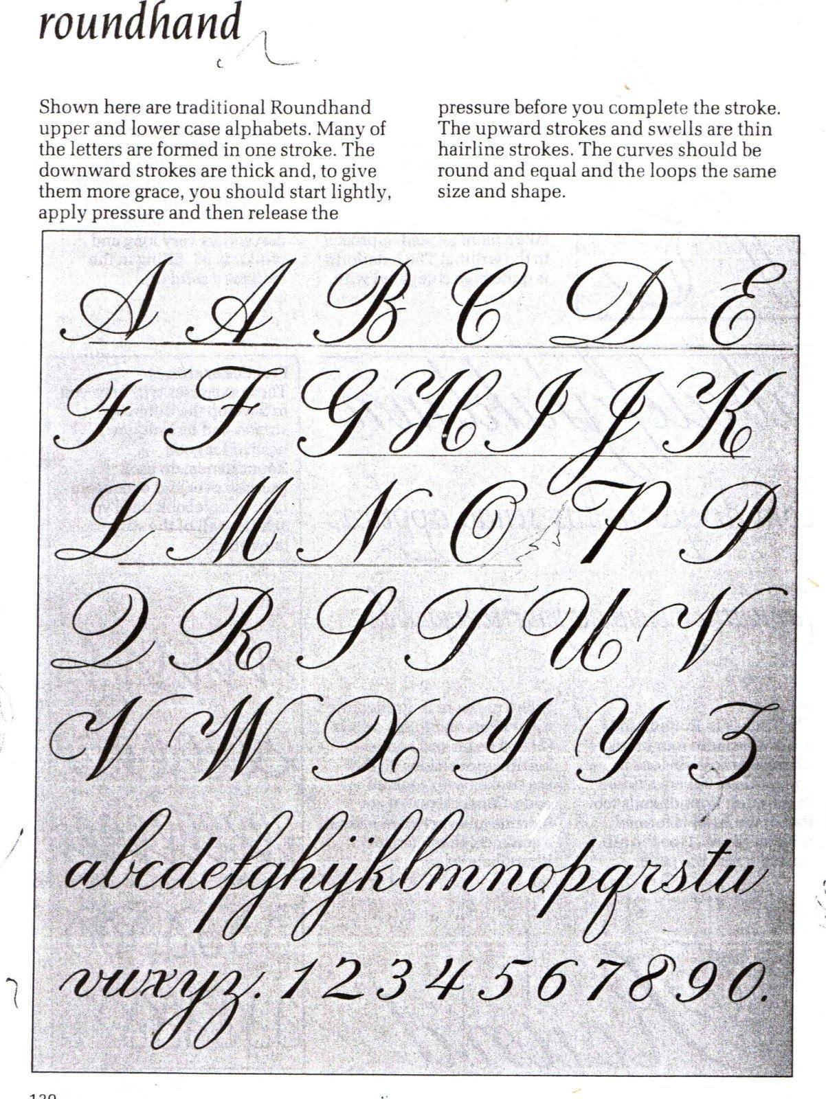Las Cursivas Asignatura De Caligrafia Expresiva Tipos De Letras Alfabeto Cursiva Abecedario En Cursiva
