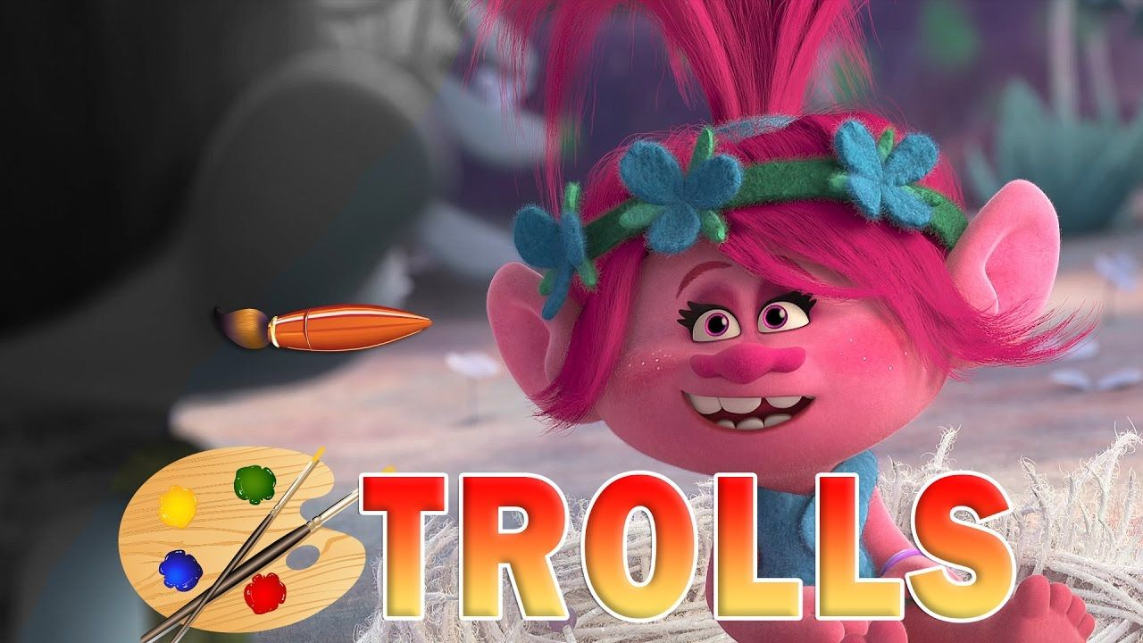 Coloring Pages Trolls : Trolls movie coloring pages poppy and branch kids coloring
