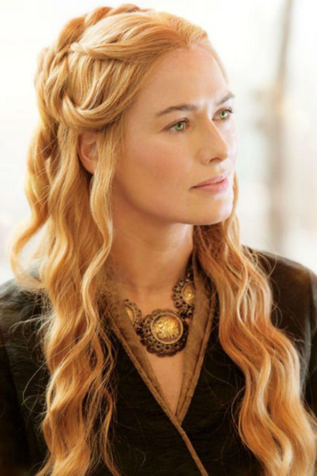 Coiffure romantique Cersei Lannister Belle coiffure