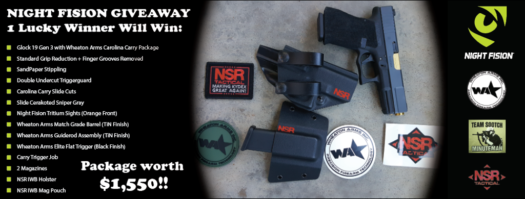Gun giveaway sweepstakes 2018 march