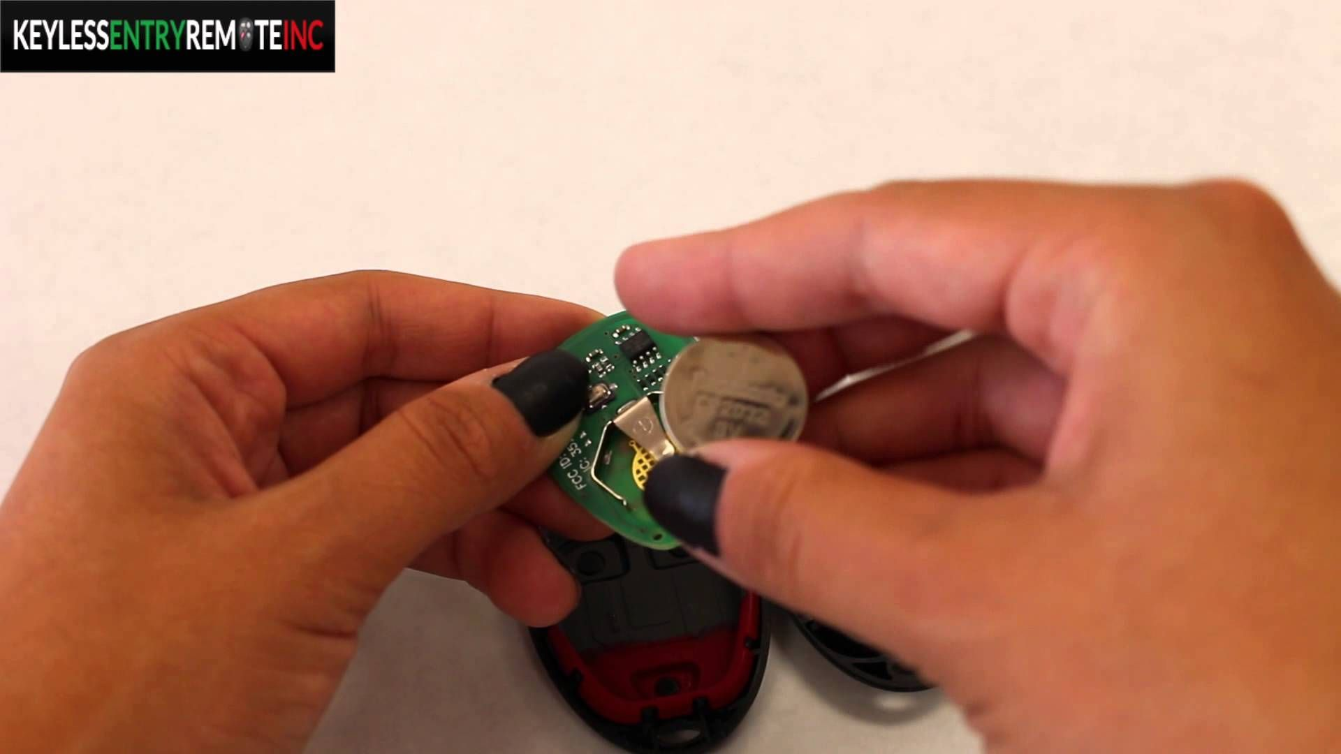 How To Replace Chevrolet Hhr Key Fob Battery 2008 2011 Key Fob